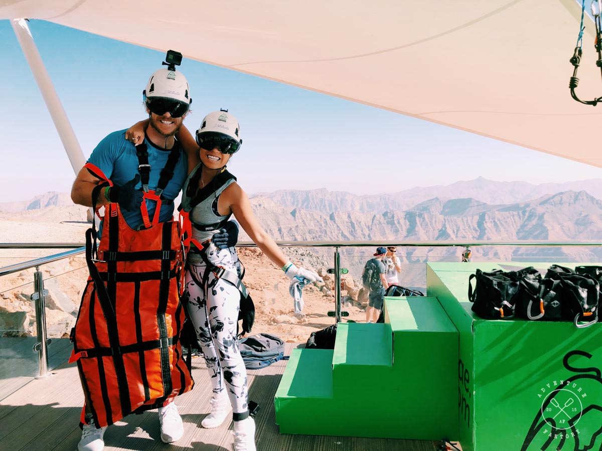 The longest zipline in the world is in the uae adventurefaktory 3 the best bit is that after your flight its not over yet after doing the longest zip line you land on a suspended platform on a cliff face solutioingenieria Choice Image