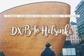 Flights from Dubai to Helsinki