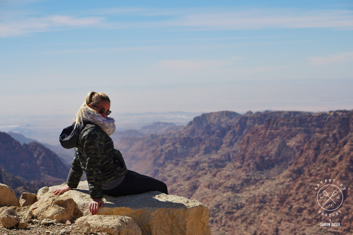 Hiking in Jordan