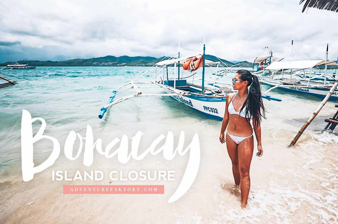 Boracay to close down 6 months