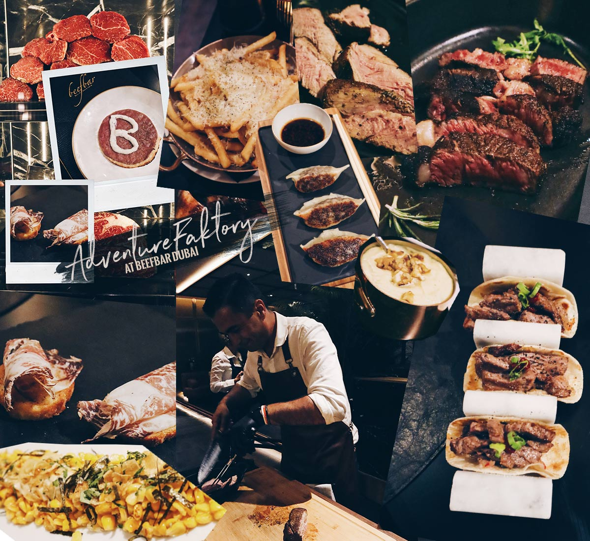 If you love meat, you can't miss a visit to Beefbar Dubai
