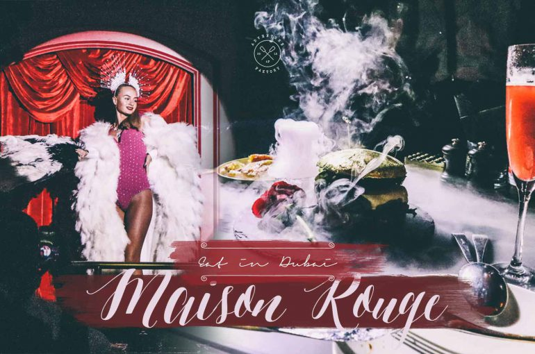 Entertaining places to eat in Dubai, La maison Rouge Dubai