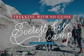 Can you do Everest Base Camp without a guide?