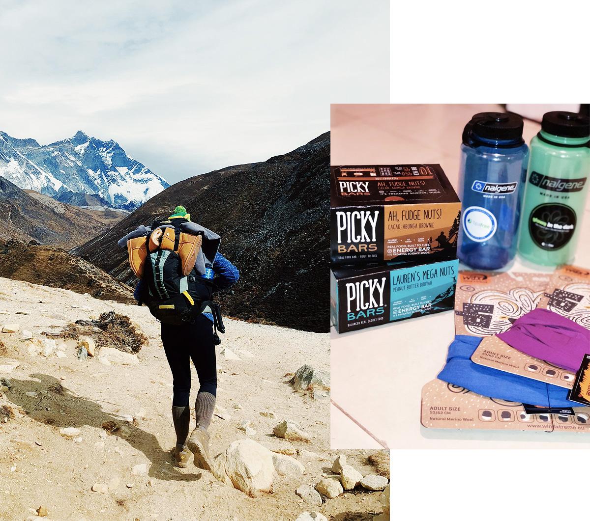 Snacks for Everest Base Camp