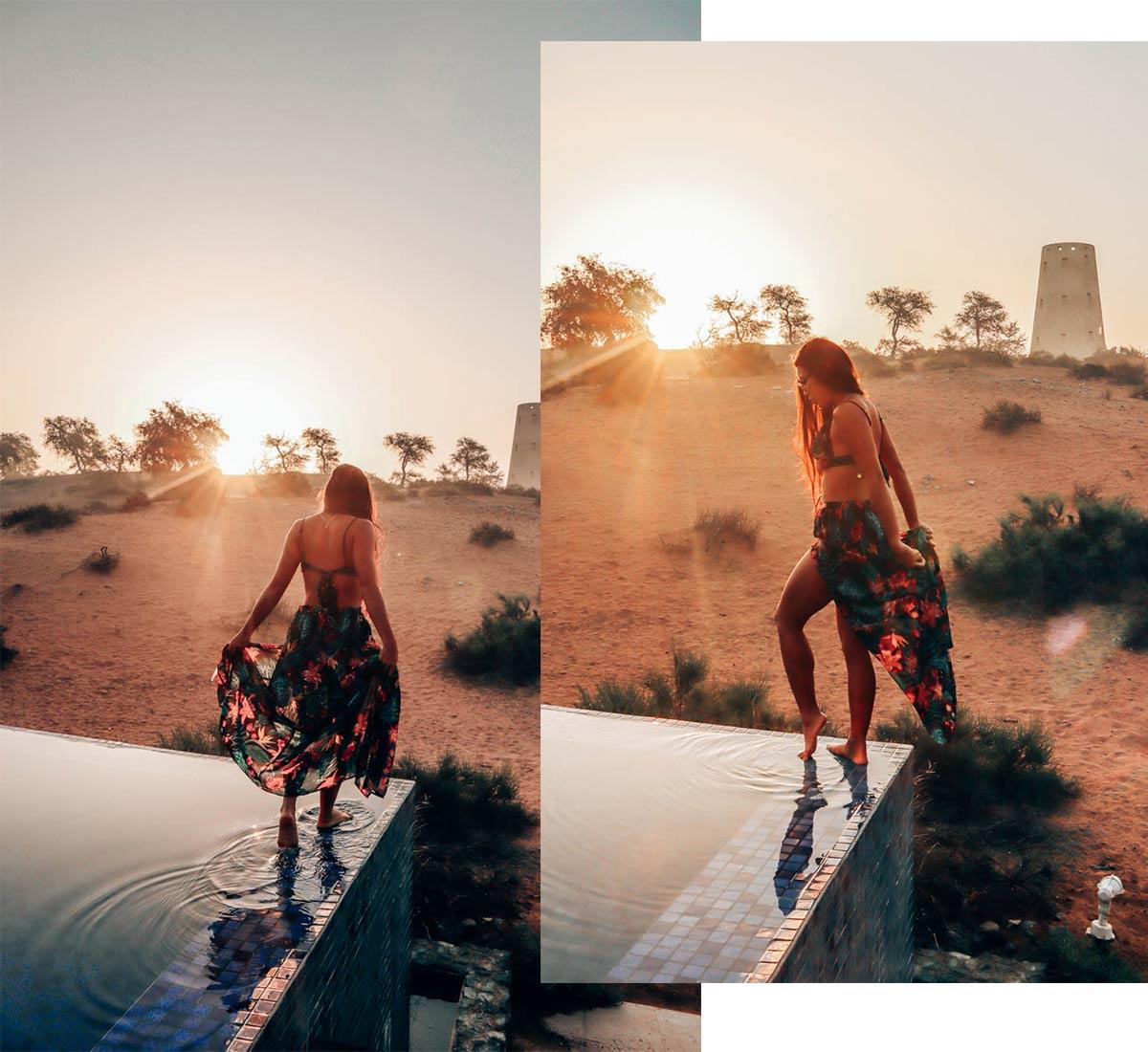 Ritz-Carlton Al Wadi Pool