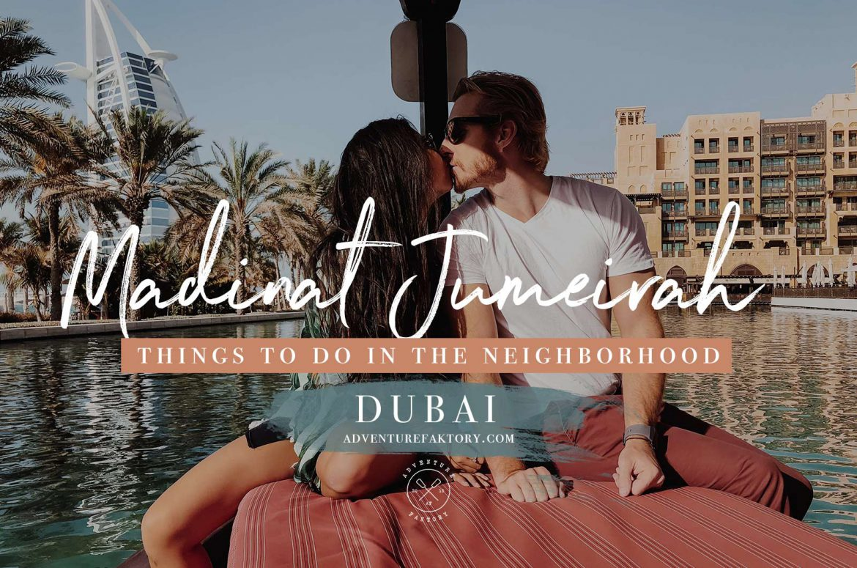Things to do in Madinat Jumeirah