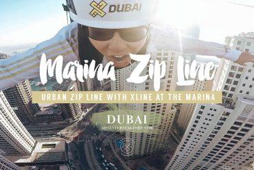 Dubai Marina zipline