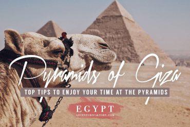 Giza Pyramids tips