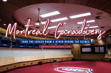 Visiting the home of the Montreal Canadiens