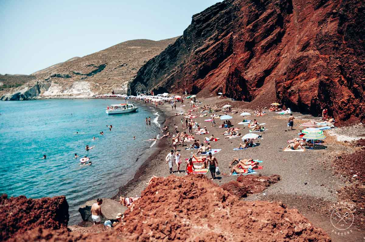 Beaches to see in Santorini