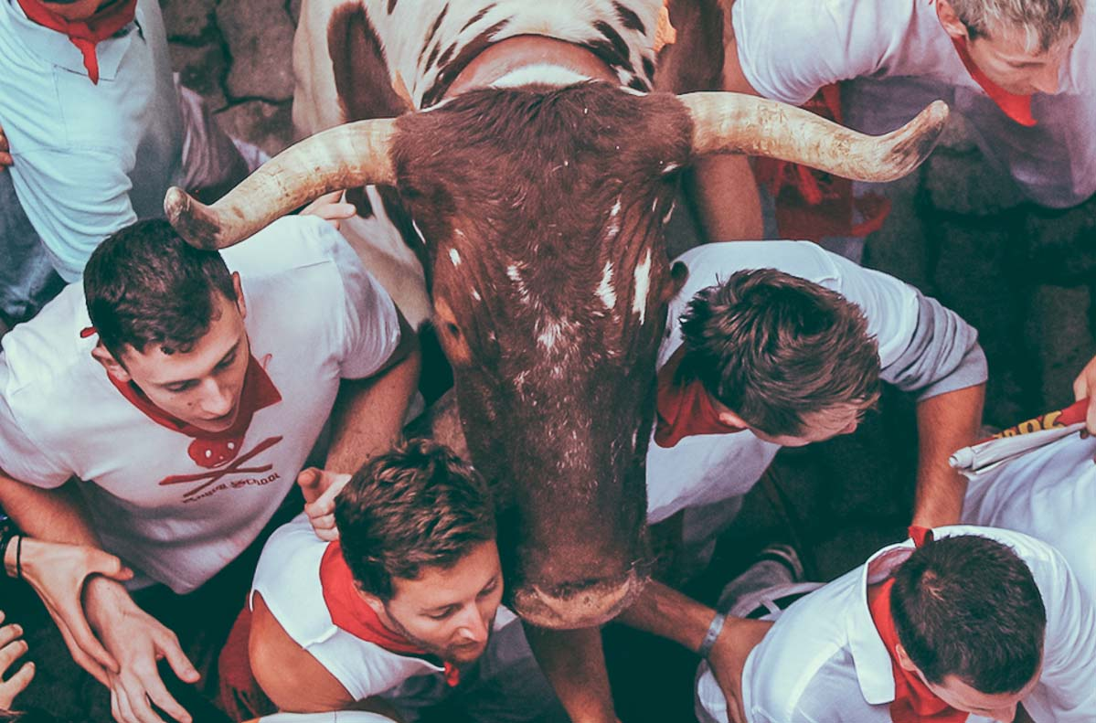 Run with the Bulls in Spain