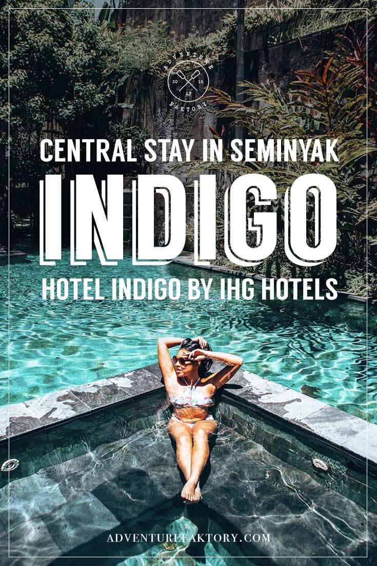 Hotel Indigo Seminyak: Stay in a central new resort in Bali