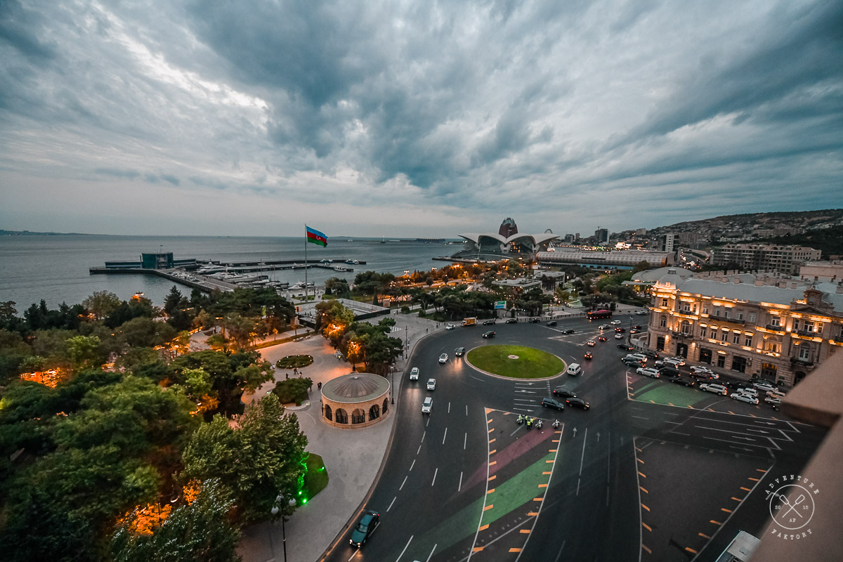 Nice places in Baku, Azerbaijan