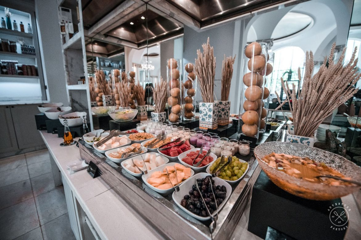 Four Seasons Baku Breakfast