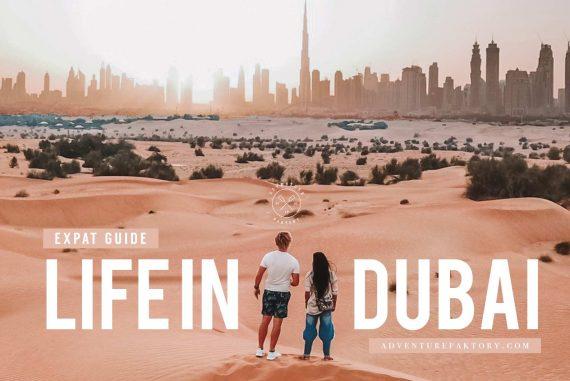 How is living in Dubai