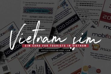 How to get a tourist SIM in Vietnam