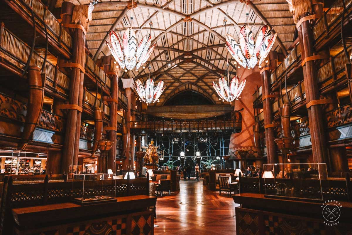 Staying at the Disney's Animal Kingdom Lodge