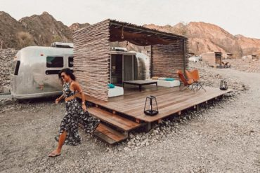 Glamping in Dubai