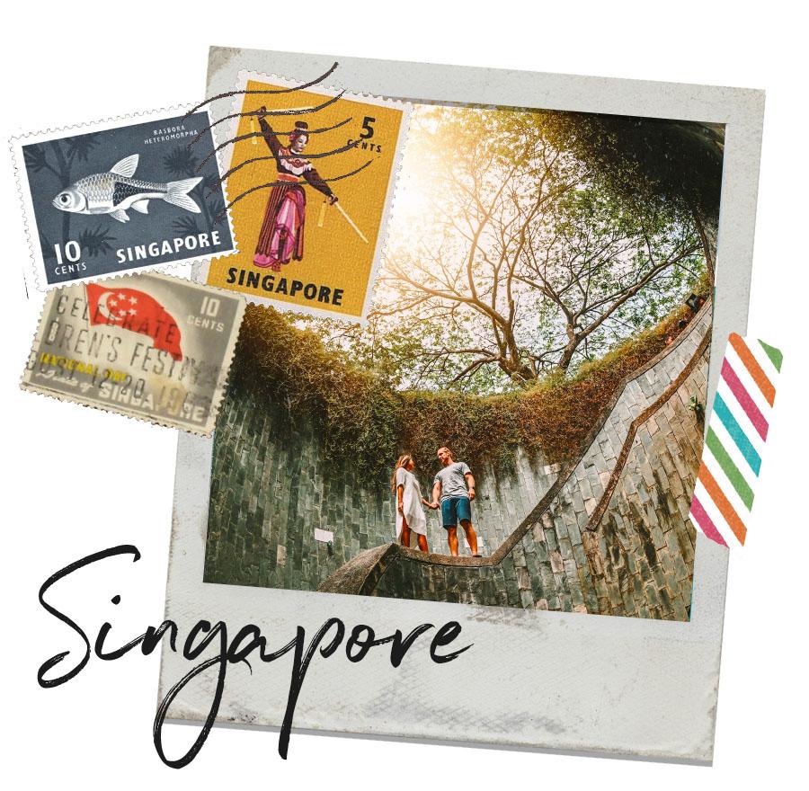 In Singapore!