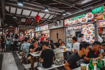Hawker Centre in Serangoon - Chom Chom Hawker