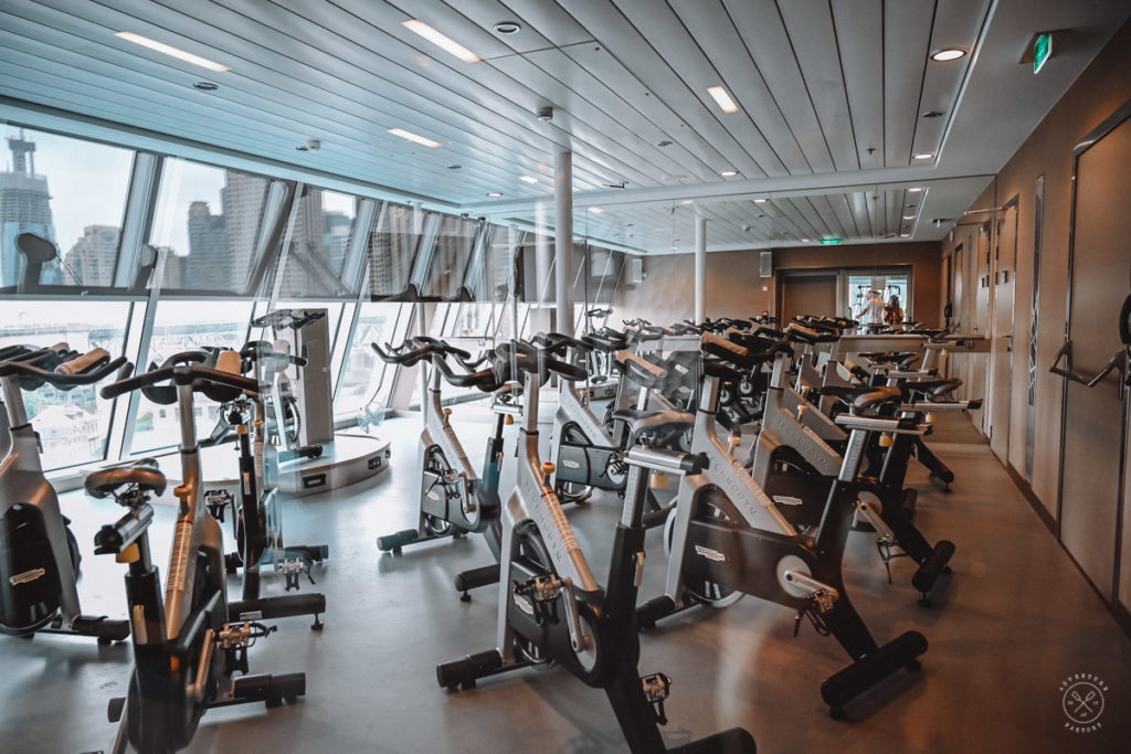 Royal Caribbean Ovation of the Seas Fitness Centre