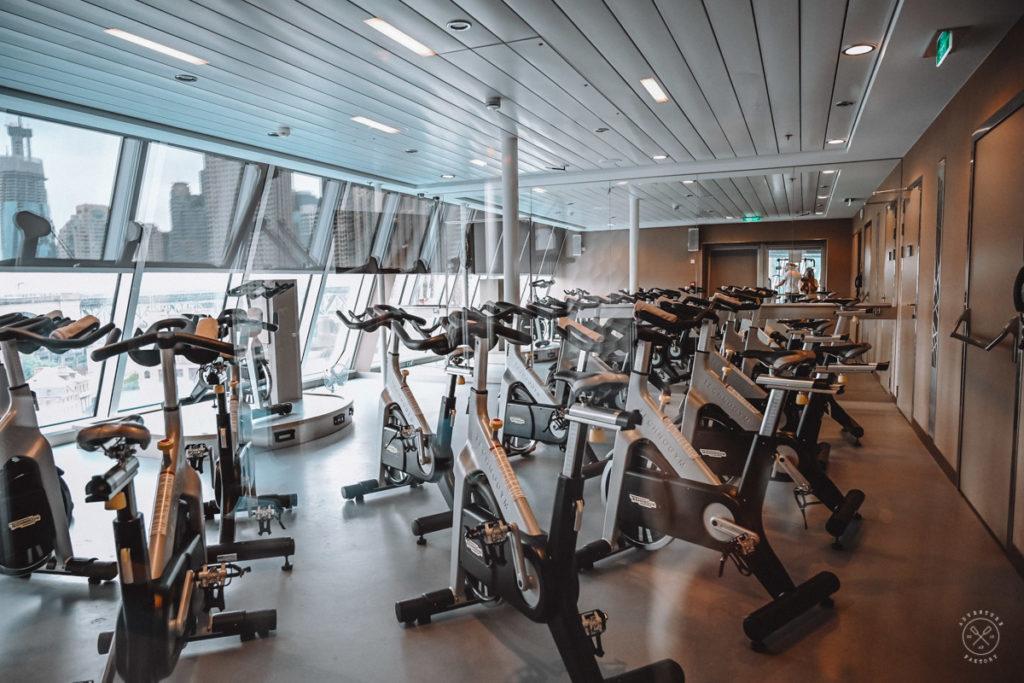 Royal Caribbean Ovation of the Seas Fitness Centre