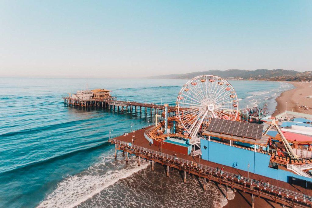 Where to stop on a USA road trip: Santa Monica