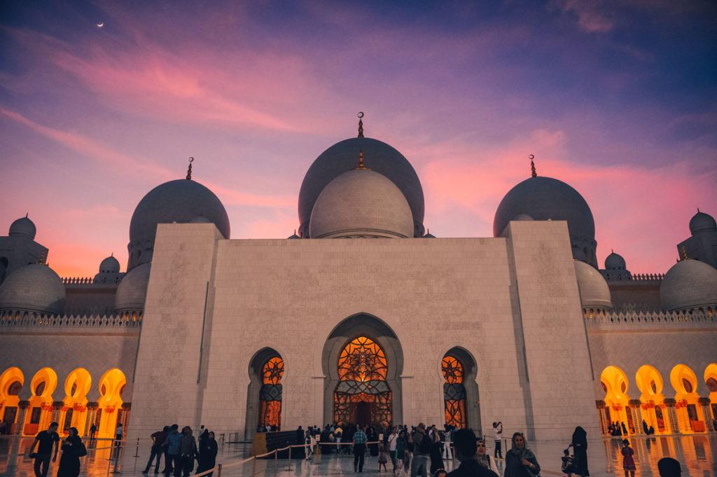 Travel to Abu Dhabi