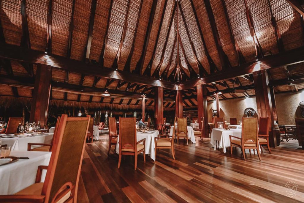 Dining at Maia Luxury Hotel