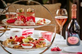 Fullerton Hotel Afternoon Tea for Breast Cancer