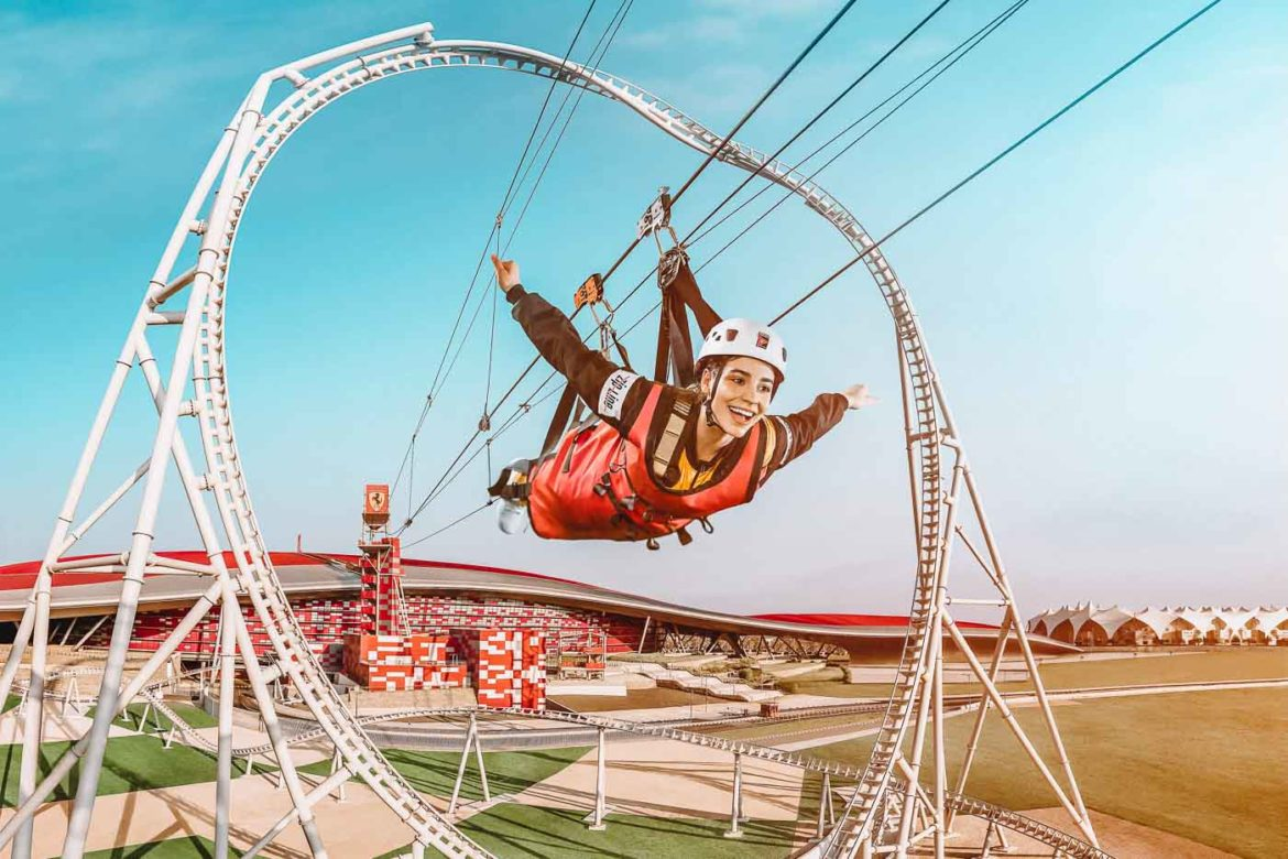 Ferrari World Abu Dhabi launches all-new Roof Walk and Zip Line experiences
