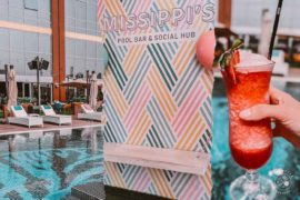 New Rooftop Pool Bar in Dubai at Missippi's Pool Bar & Social Hub