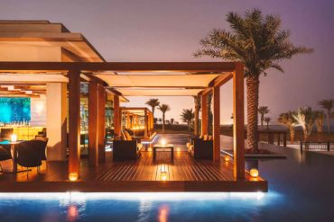 Sunset Flow at The Sontaya, St. Regis Saadiyat Island Resort