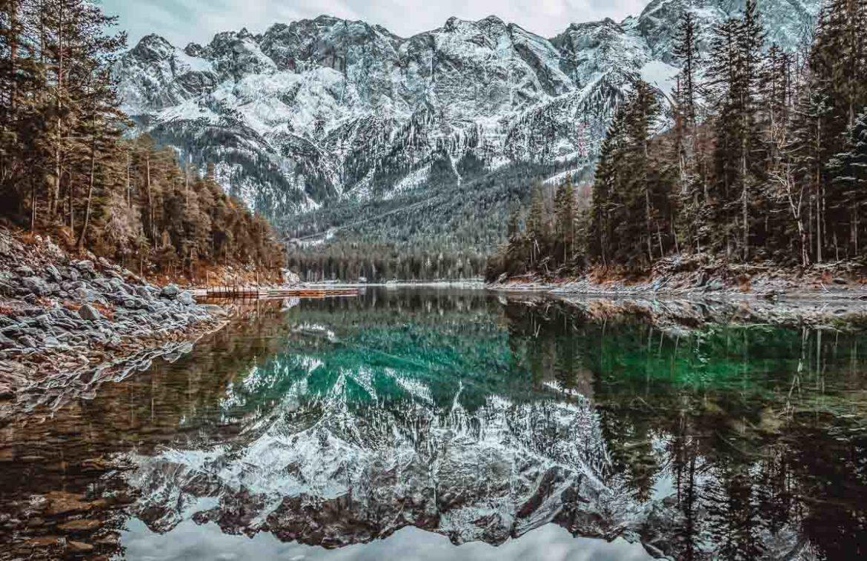 Eibsee, Grainau, Bavaria, Germany by Mario Dobelmann