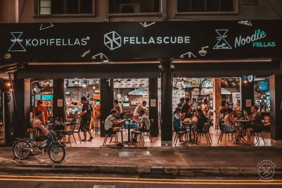 FellasCube: A hipster Street Food experience you must try in Singapore