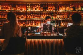 Best Cocktail Bars in Singapore: Manhattan Bar, A New York Personified Cocktail Experience