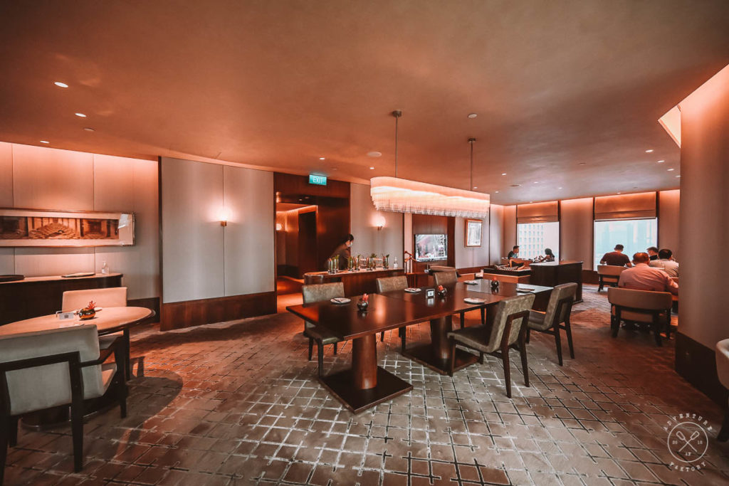 Executive Lounge at the Conrad Centennial Singapore Staycation Review