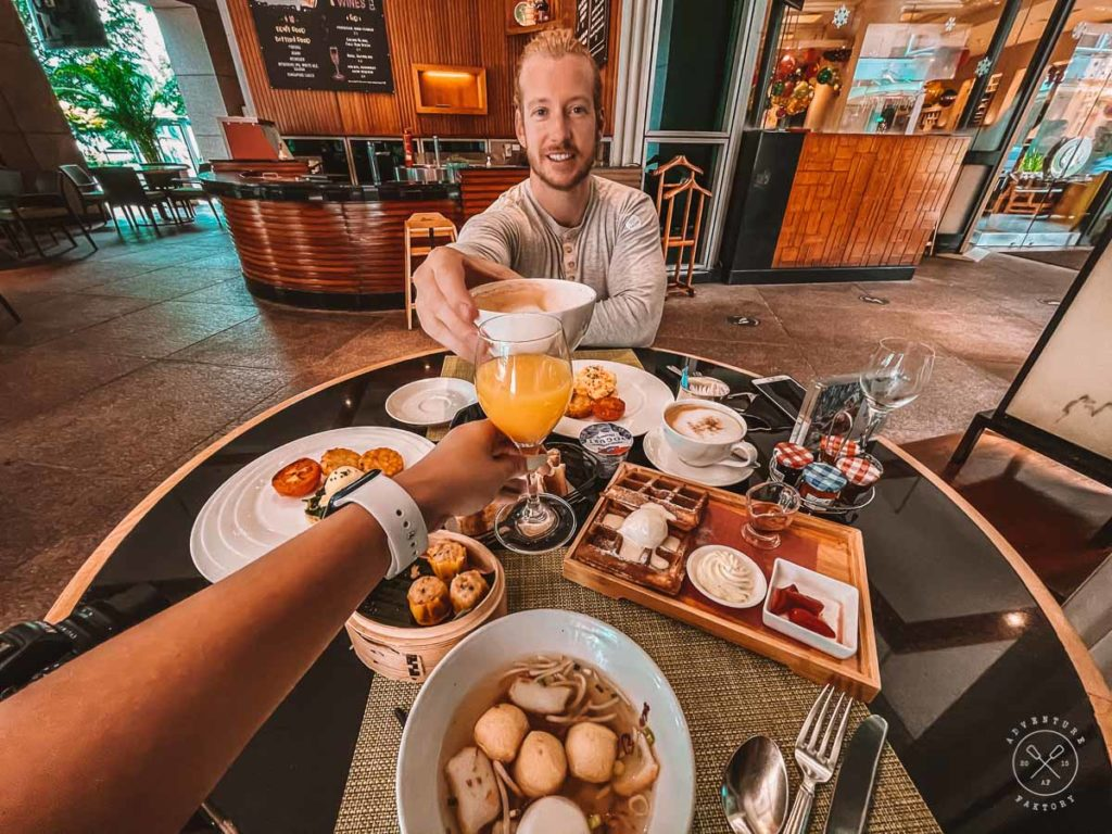 Conrad Centennial Singapore Staycation - Breakfast