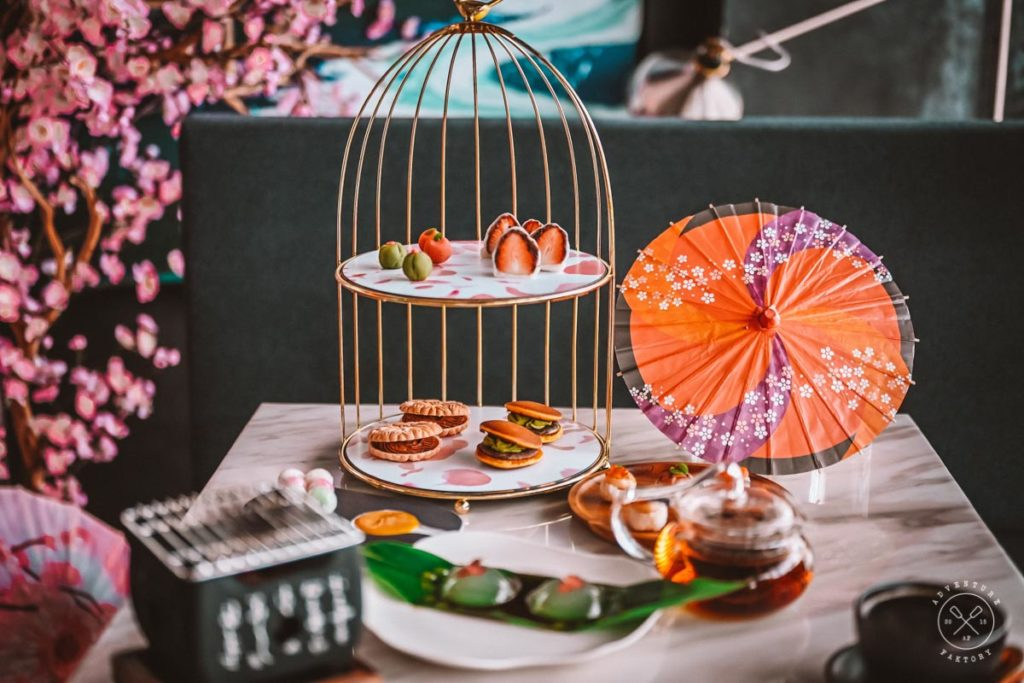 Travel Japan from Singapore at Janice Wong's Geisha High Tea