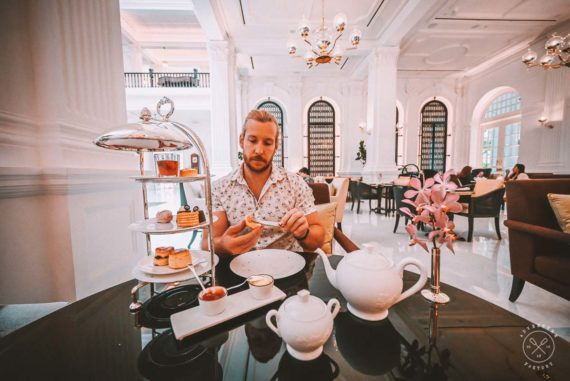 Afternoon Tea in Singapore at Raffles Hotel Singapore